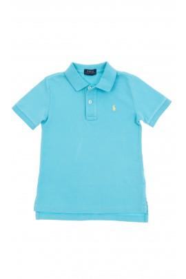 Niebieska polówka chłopięca, Polo Ralph Lauren