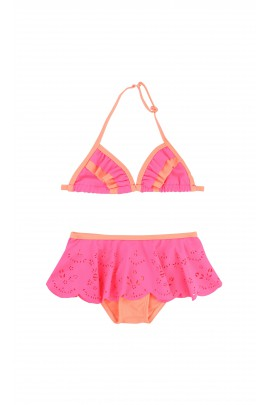 Różowo pomarańczowy strój kąpielowy, Billieblush