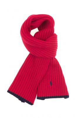 Czerwony szalik, Polo Ralph Lauren
