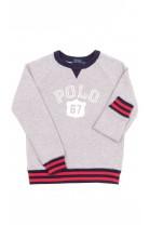 Szara bluza dresowa, Polo Ralph Lauren