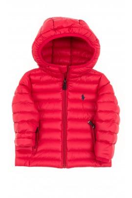 Czerwona kurtka niemowlęca, Polo Ralph Lauren