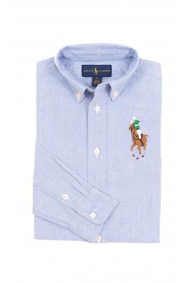 Niebieska koszula chłopięca, Polo Ralph Lauren