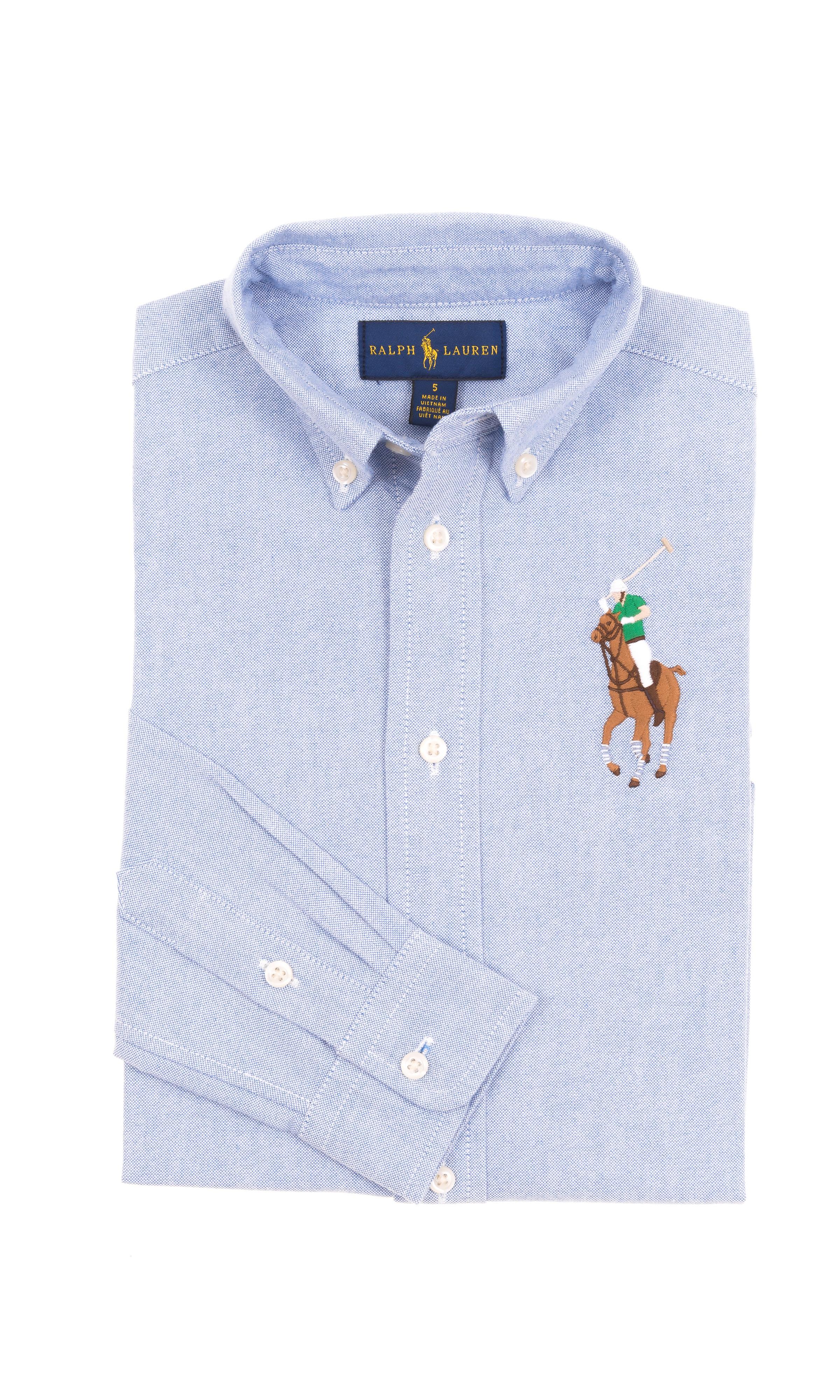 3159e5938 Niebieska koszula chłopięca, Polo Ralph Lauren - Celebrity-Club
