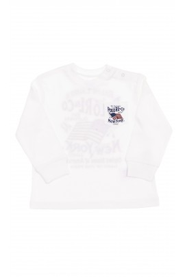 Biały t-shirt chłopięcy, Polo Ralph Lauren