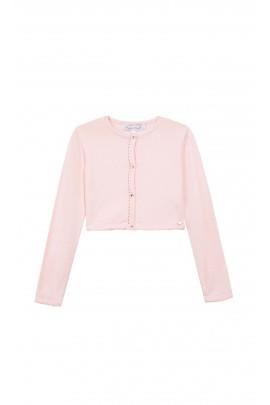 Różowy sweter, Tartine et Chocolat