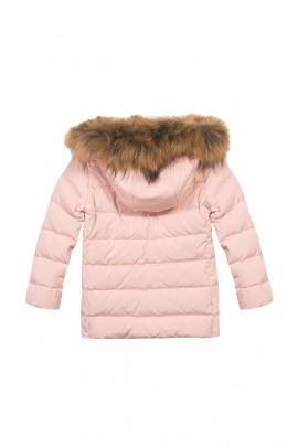 Różowa kurtka dziewczęca, Tartine et Chocolat