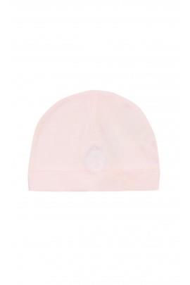 Różowa czapka niemowlęca, Tartine et Chocolat