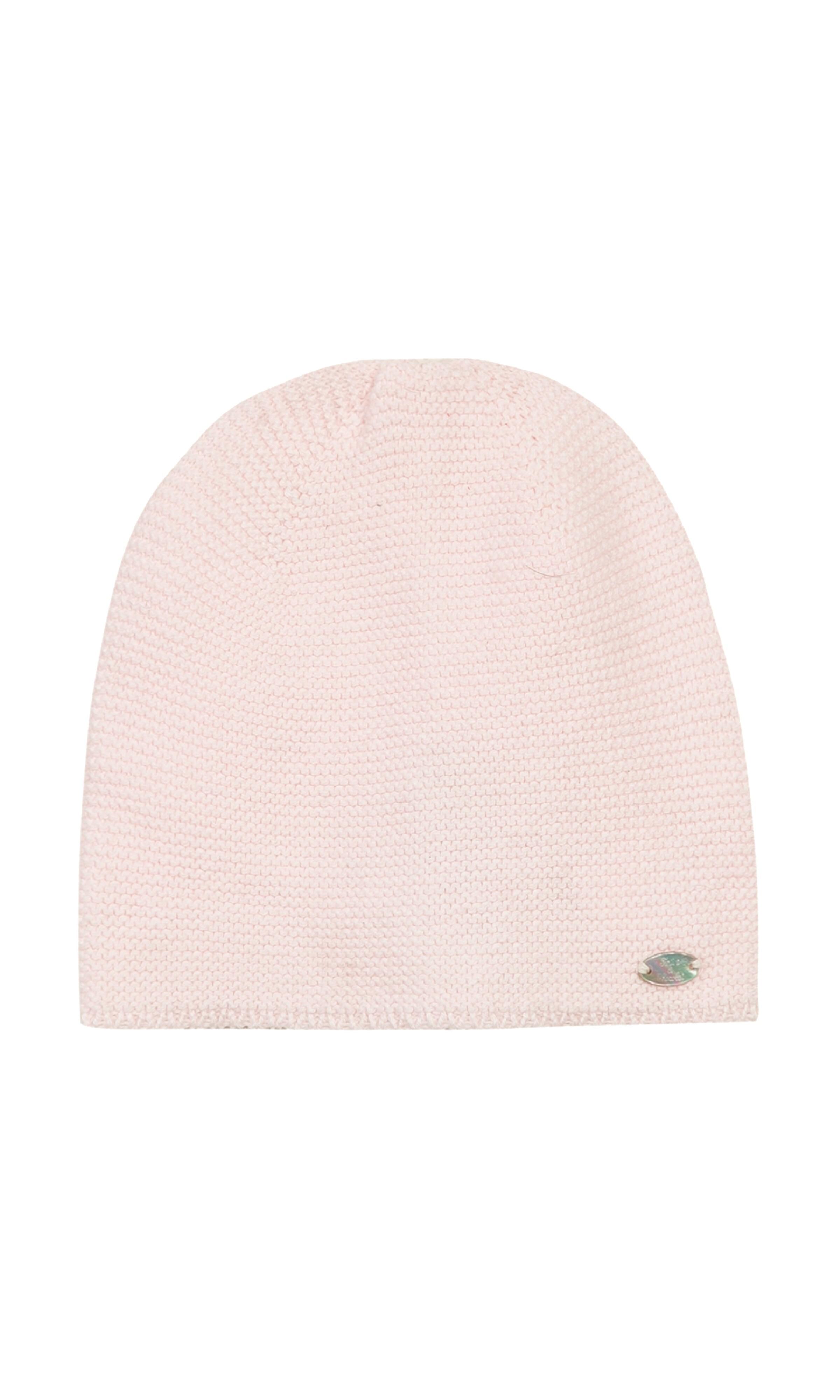 Różowa czapka niemowlęca cba06596af9