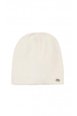 Biała czapka niemowlęca, Tartine et Chocolat