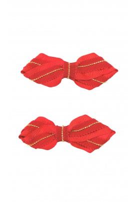 Spinki ozdobne czerwone do włosów, Tartine et Chocolat