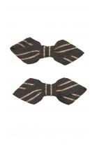 Spinki ozdobne granatowe do włosów, Tartine et Chocolat