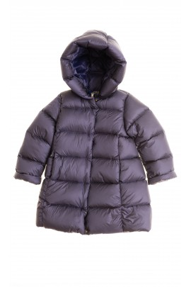 Granatowy płaszcz puchowy, Polo Ralph Lauren