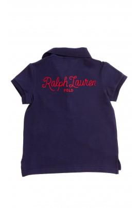 Granatowe polo dziewczęce, Polo Ralph Lauren
