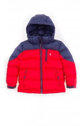 Czerwona kurtka chłopięca, Polo Ralph Lauren