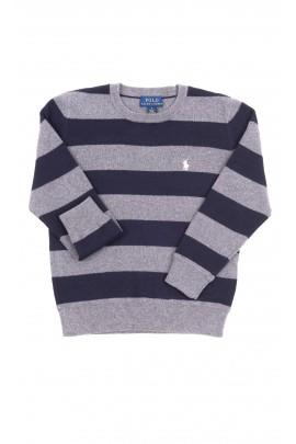 Szary sweter chłopięcy, Polo Ralph Lauren