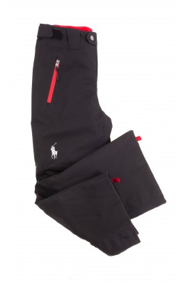 Czarne spodnie narciarskie, Polo Ralph Lauren