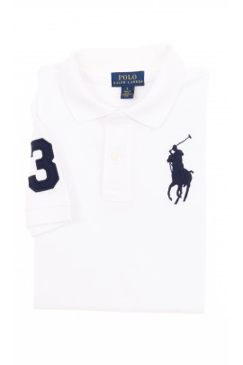 Białe polo chłopięce, Polo Ralph Lauren