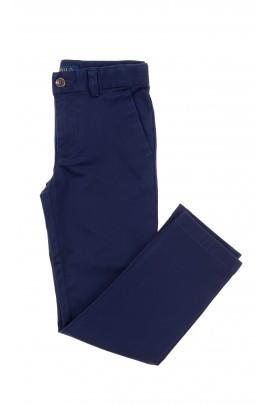 Eleganckie granatowe spodnie chłopięce, Polo Ralph Lauren