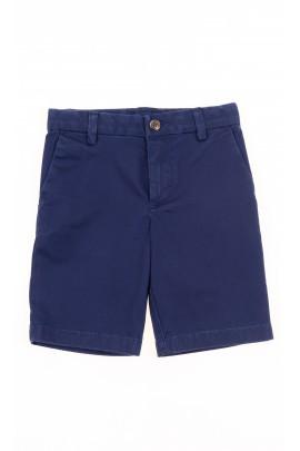 Granatowe krótkie spodnie chłopięce, Polo Ralph Lauren