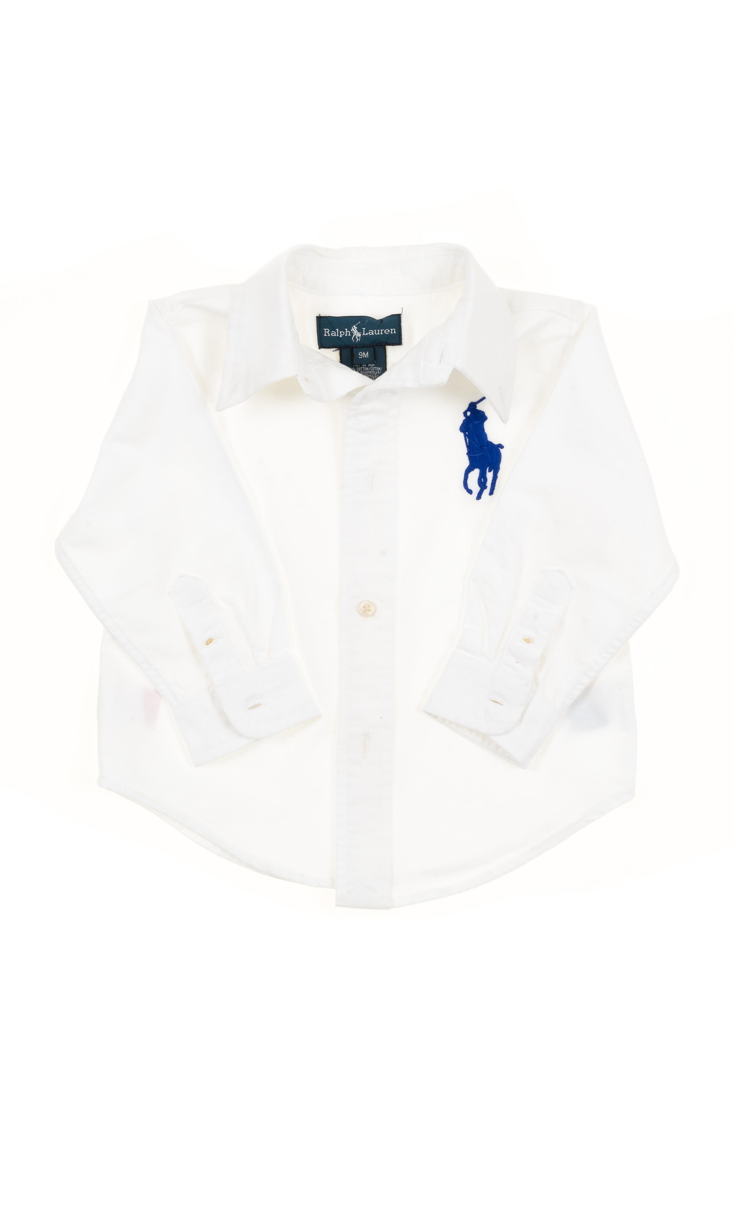 d5fa83200 Biała koszula, Polo Ralph Lauren - Celebrity-Club