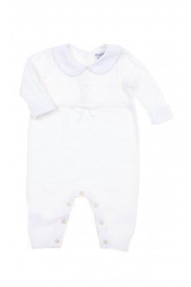 Biały pajacyk bez stópek, Polo Ralph Lauren