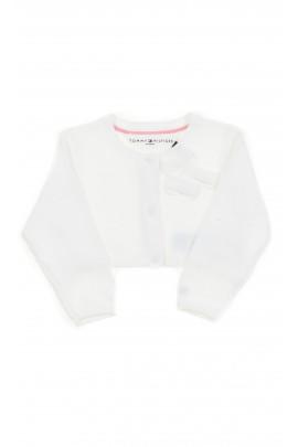 Biały sweter niemowlęcy, Tommy Hilfiger