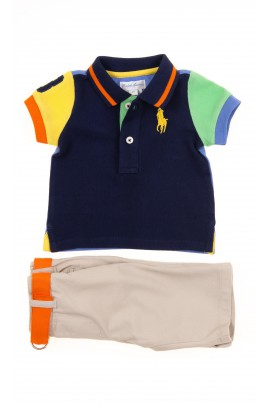 Komplet chłopiecy koszulka polo + spodnie, Polo Ralph Lauren
