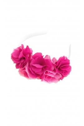 Przepaska z różowych płatków kwiatowych, Special Day
