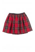 Spódnica w czerwoną kratę, Polo Ralph Lauren