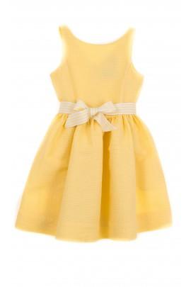 Żółta sukienka, Polo Ralph Lauren