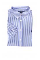 Koszula chłopięca w niebiesko-białe paski, Polo Ralph Lauren