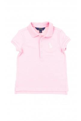 Różowa polówka dziewczęca, Polo Ralph Lauren