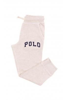 Jasnobeżowe spodnie dresowe, Polo Ralph Lauren