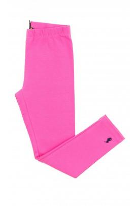 Różowe legginsy dziewczęce, Polo Ralph Lauren
