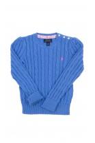 Niebieski sweter pod szyję, Polo Ralph Lauren