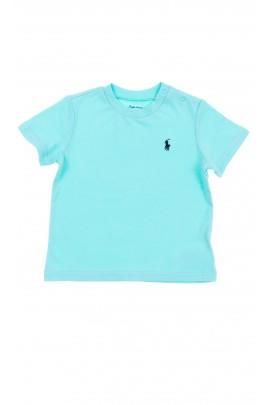 Turkusowy t-shirt, Polo Ralph Lauren