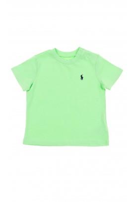 Seledynowy t-shirt , Polo Ralph Lauren