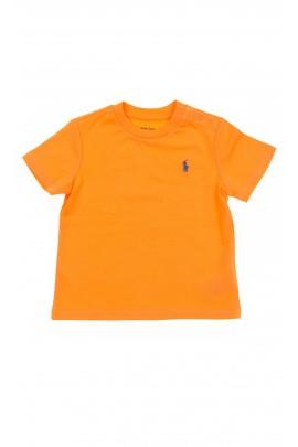 Pomarańczowy t-shirt, Polo Ralph Lauren