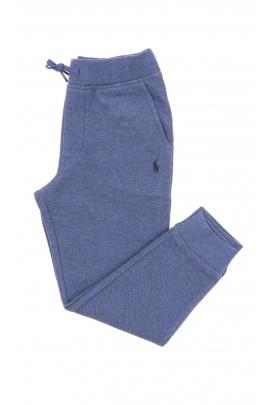 Niebiesko-szare spodnie dresowe, Polo Ralph Lauren
