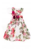 Sukienka na uroczystości w kwiaty, Lesy