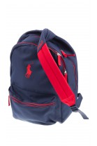 Granatowy plecak 2-komorowy, Polo Ralph Lauren