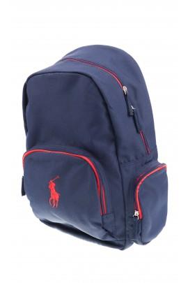 Granatowy plecak 1-komorowy, Polo Ralph Lauren