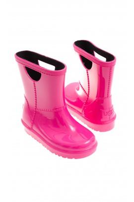 Różowe kalosze dziewczęce, UGG