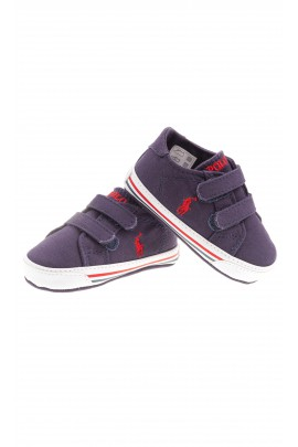 Granatowe tenisówki niemowlęce, Polo Ralph Lauren