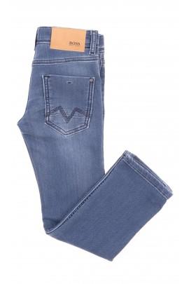 Spodnie dżinsowe zwężane jasnoniebieskie, Hugo Boss