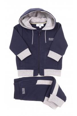 Granatowy dres niemowlęcy, Hugo Boss