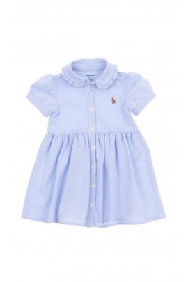 Niebieska sukienka niemowlęca, Polo Ralph Lauren