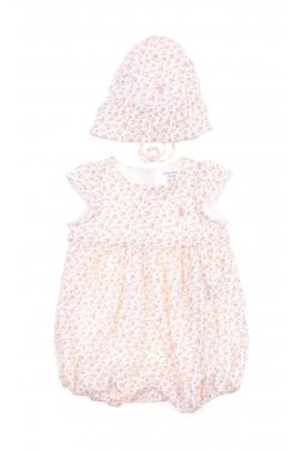 Rampers w kwiatki niemowlęcy, Polo Ralph Lauren