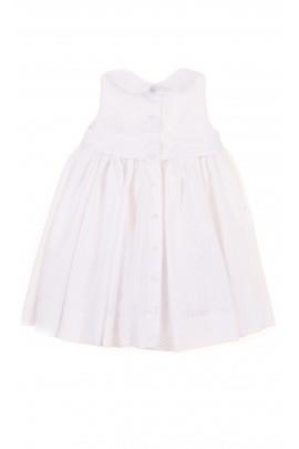 Biała sukieneczka niemowlęca, Polo Ralph Lauren
