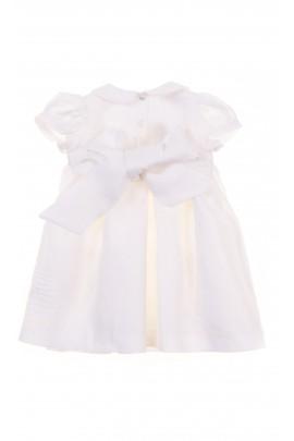 Biała sukieneczka niemowlęca na uroczystości, Ferrari Mariella